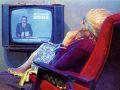 У телевизора. 1985. Х., м.