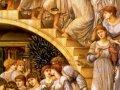 Едвард Бурн-Джонс. Золотые звезды.1880. Х., м.