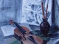 Дарья Тебина. 16 лет. Новокузнецк, ДХШ №2, пр. И.М. Лялькина. СТИПЕНДИЯ