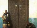 Василий Верещагин. У дверей мечети. 1873. Х., м.