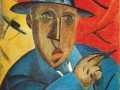 В. Татлин. Портрет художника. 1912. Х., м.