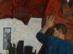 Анатолий Никич. Кованая медь. 1967. Холст, масло. 120 х 140. Государственная Третьяковская галерея