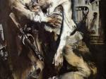 Евсей Моисеенко. Победа. 1970-1972. Холст, масло. 200 х 150. Государственный Русский музей