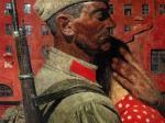 Гурий Коржев. Проводы. 1967. Холст, масло. 174 х 231. Государственный Русский музей