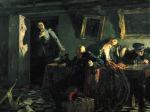 Кукрыниксы. Конец. 1947-1948. Холст, масло. 200 х 251. Государственная Третьяковская галерея