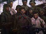 Михаил Холуев. Солдаты. 1941. Холст, масло. 1969.