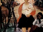 Михаил Савицкий. Партизанская мадонна. 1967. Холст, масло. 190 х 170. Государственная Третьяковская галерея